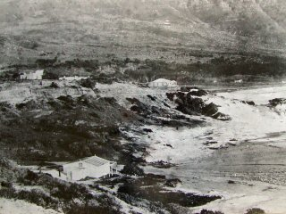 Glen Beach in the early days, about 1889.